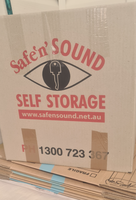$1 each for packing boxes, most of which have been used once.We have tea chest size, (107 litre),medium...
