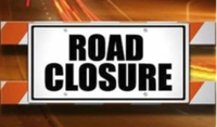 Attention is directed to an application for Permanent Road Closure of an area of about 7300m² of road...