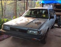 CABARLAH174 Happy Valley RoadSubaru S/wagon 4WD (Paddock basher) Childs Swing & Slide Chook coop...