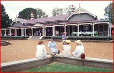 Historic Gabbinbar Homestead has been used for several weddings.