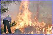 Firefighers predicting horror bushifre summer