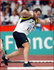 Justin Anlezark will be heaving his way into history at the Olympics today.