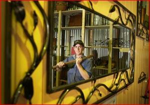 Champion Highfields Village Blacksmith Jeff Ryan. Picture: SCOTT FLETCHER