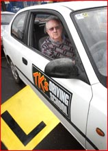Tony Kennedy welcomes the State Government?s introduction of a trial of L-plates for learner drivers. Picture: SCOTT FLETCHER