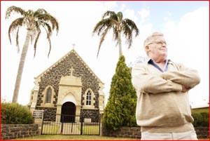 Retirement village resident Hugh Bingham. Picture: SCOTT FLETCHER