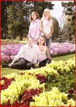 Entrants  Peta Briskey,Vanessa Fritz, Tatum Freeman and Natalie O?Leary. Picture: SCOTT FLETCHER