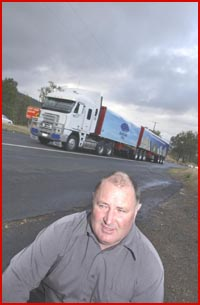 GATTON Mayor Steve Jones says the Range Highway will always be both dangerous and a necessity. Picture: BEV LACEY?