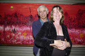 DREAM REALISED: Aboriginal artist Gordon Syron