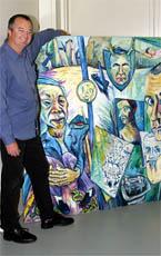 TWEED River Regional Art Gallery director Gary Corbett