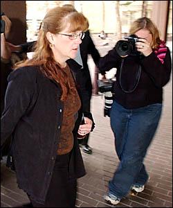 JUDGMENT DAY: Daniella Dawes arrives at Parramatta District Court on June 2 for sentencing