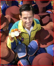 Dual medal-winning Paralympian Stephen Wilson. Picture: SCOTT FLETCHER