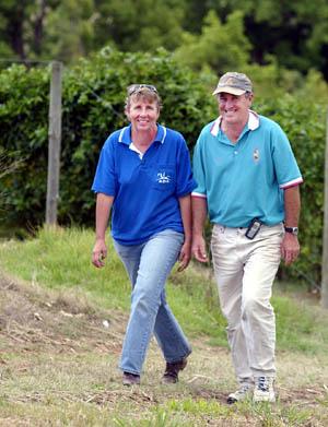 Dunbible farmers Leonie and Joel Dunne