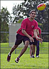Byron Bay league sprinter Chris King