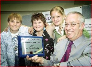 2004 Grand Central Teacher of the Year Brett Gredig. Picture: NEVILLE MADSEN