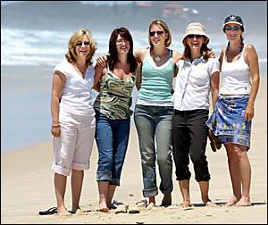 June Casey, Tori Pisarek, Jane Thomson, Diedre Hogarth and Julie Webster.