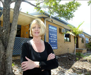 Alanna Alexander of Alexanders on Fifth Real Estate is relieved a controversial Palm Beach development was blocked.