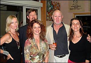 FROM LEFT: Meredith Crowe, Barry Jameson, Hayley Katzen, John Bennett, and Megan Edwards.