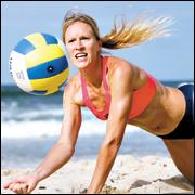 Beach volleyballer Carla Kleverlaan