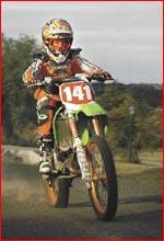 Sam Southey, 65cc title  holder. Picture: SCOTT FLETCHER