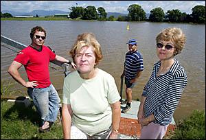 Riverside residents upset