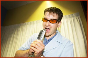 Toowoomba performer Nik Edser has reached the state finals of the SBS National Karaoke Challenge. Picture: SCOTT FLETCHER