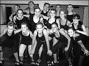 Members of the Imprint Dance Company
