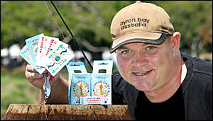 FISHING card game inventor, Chris Mo, from the Tweed Coast