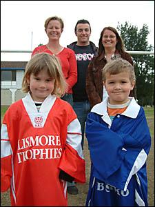 TRANS-TASMAN: Caniaba?s Ellissa McCullum (nee Arthur) and her Kiwi Test cricketing wicketkeeper husband Brendon.