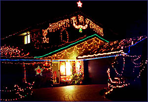You could be a winner in our Daily News/Tweed City Christmas lights competition.