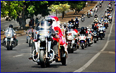 Once again the annual Ulysses Club toy run proved popular