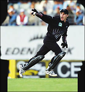 KIWI wicketkeeper Brendon McCullum.