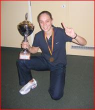 Australian futsal captain Jodie Hammond. Picture: SUPPLIE