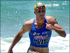 MAN TO BEAT: Hugh Dougherty will defend his Yamba Sportsfest crown in January.