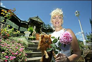 BYANGUM gardener Julie Hitchens will open her lavish gardens for tsunami charities next weekend