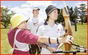 Ingrid Brookshaw with Tim Cuddihy and Suzi Englebright. Picture: NEVILLE MADSEN.
