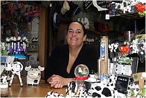 MOO Moo Cafe proprietor Nora Brils is a shop owner on the ?mooove?.