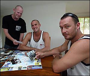 Tweed trio Shane Hardy, Paul White and SamEveringham