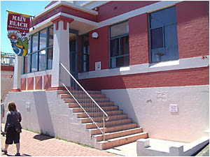 The former Byron Shire Council chambers at Byron Bay which has now had an interim heritage order slapped on it.
