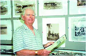 Eric Wright . . . through all its dramatic changes through the years, he never lost his passion for Byron Bay