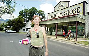 ENJOYING the friendliness of life in rural Tweed, especially around Tyalgum, is single mother Selina Heathwood
