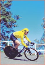 Nathan O?Neill won a sixth national time trial yesterday.  Picture: ALLSPORT