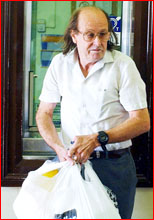 Convicted paedophile Dennis Ferguson has applied to rent a home in Toowoomba.    Picture: AAP