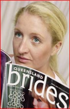 Ilka Newman is disappointed her wedding plans have gone awry.  Picture: DEBBIE DRUCE.