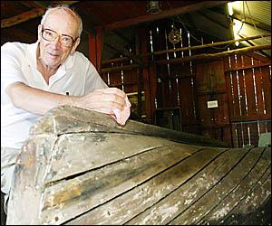Tweed Heads Historical Society researcher Bill Bainbridge.