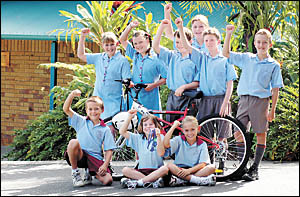 St Augustine?s Primary School is expected to provide a strong contingent for the junior triathlons.