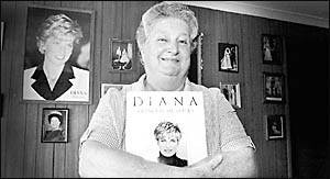 While accepting of Prince Charles engagement to Camilla Parker-Bowles, for Nancy Moran, nobody can replace Diana.