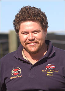 Brian Hyatt, who finished equal fifth at the Australian Lawn Bowls Championships.