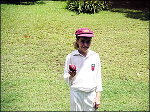 FOUR BYFOUR: Alstonville Maroon Under-12 Georgia Redmayne ? strike bowler!