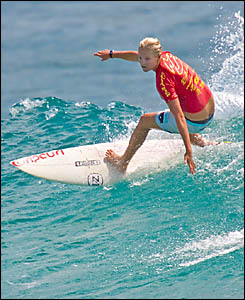 FOR GOOD CAUSE: Stephanie Gilmore will feature in the Surf For Life competition.