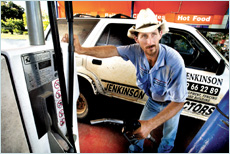 Servo, shop offer fuels petrol wars